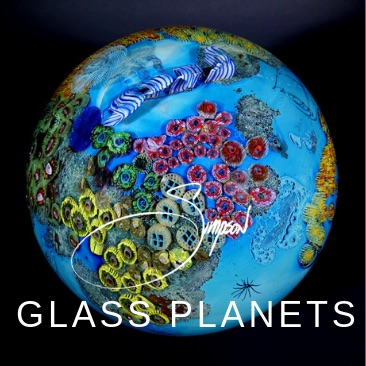 Glass Planets