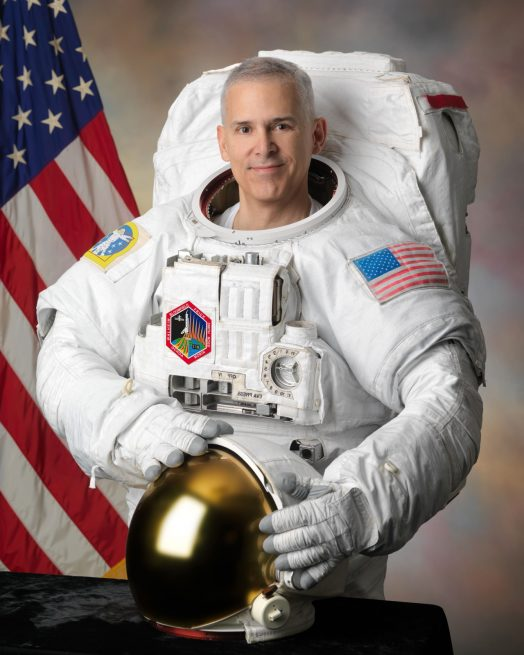 NASA astronaut Lee Morin (official portrait)