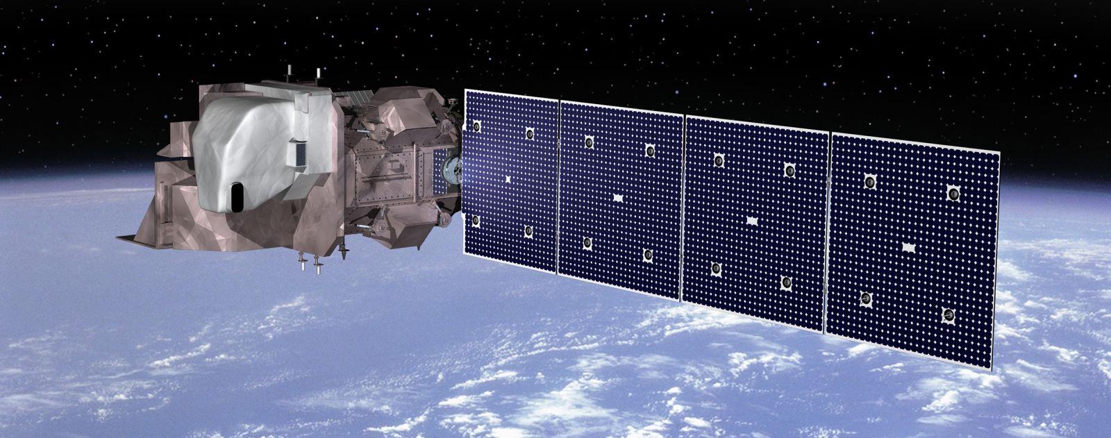Orbital ATK Landsat 9 Artist Render Image Credit Orbital ATK