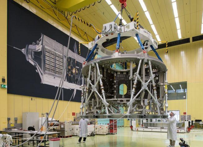 The European Service Module that will power NASA's Orion spacecraft