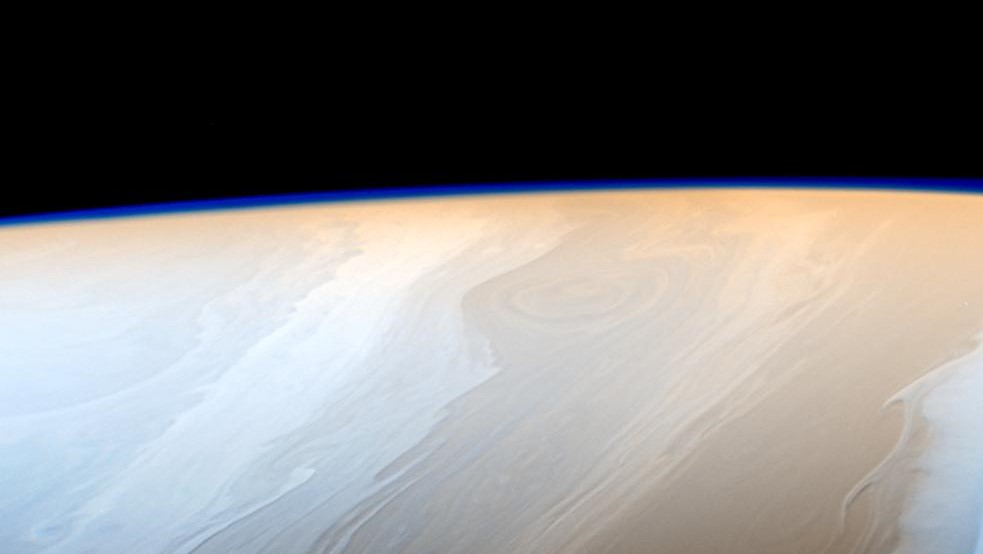 Clouds on Saturn take on the appearance of strokes from a cosmic brush thanks to the wavy way that fluids interact in Saturn's atmosphere. Photo & Caption Credit: NASA / JPL-Caltech / Space Science Institute