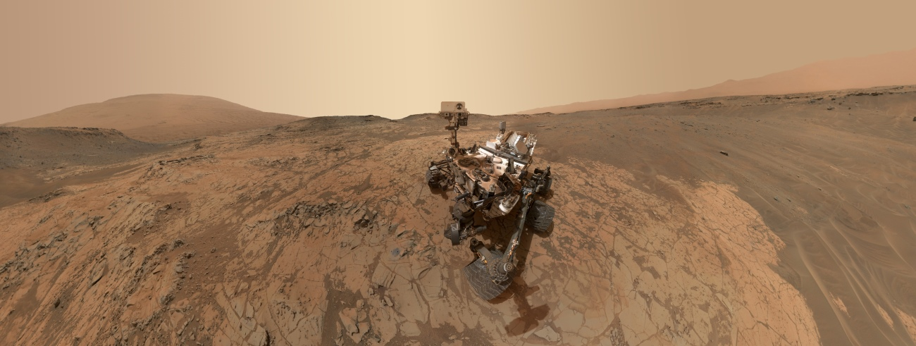 Curiosity: NASA's Mars Science Laboratory rover Curiosity has marked its fifth year on the surface of the Red Planet. Image Credit: NASA / JPL