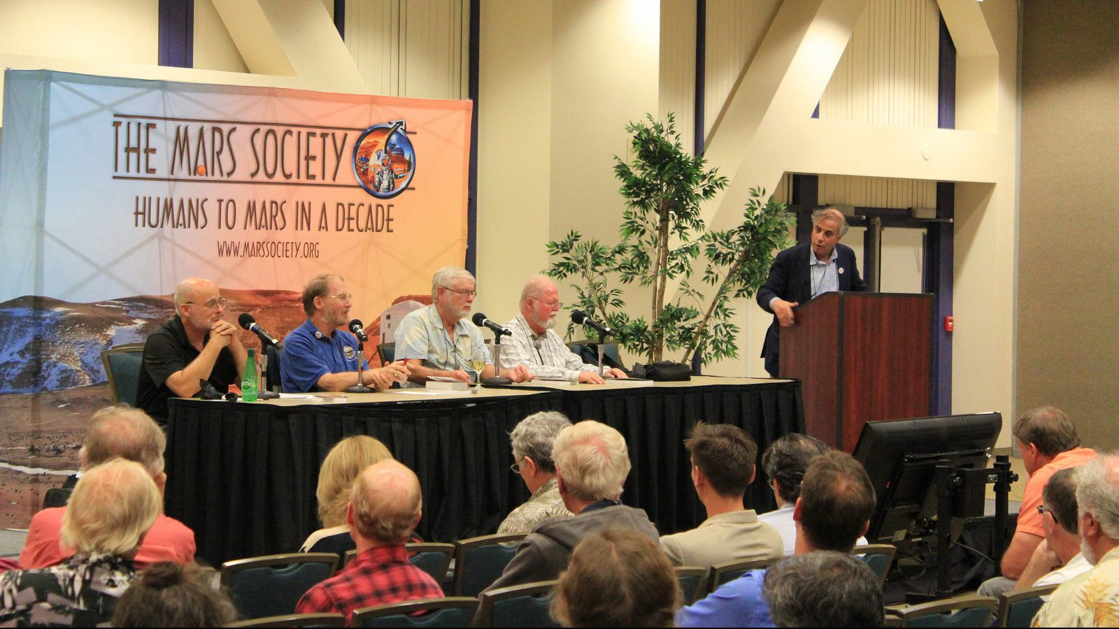2017 Mars Society Convention panel discussion with Dr. Robert Zubrin