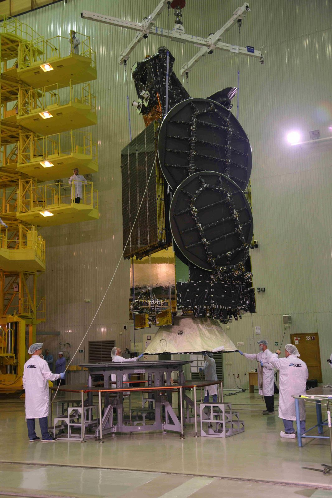 AsiaSat 9 satellite.