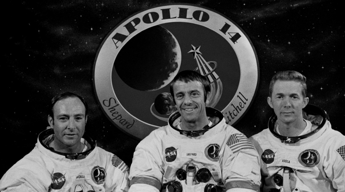 Apollo 14 crew photo credit NASA