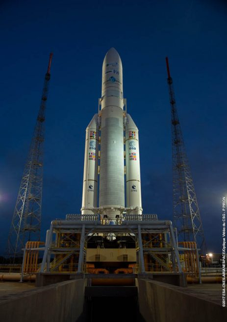 Ariane-5 / VA239 on the launch pad