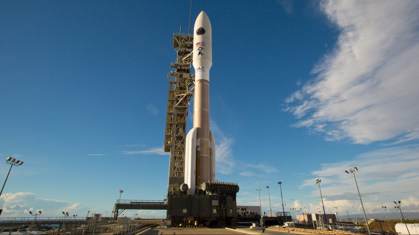 U.S.  launches secret spy satellite from Calif. Air Force base