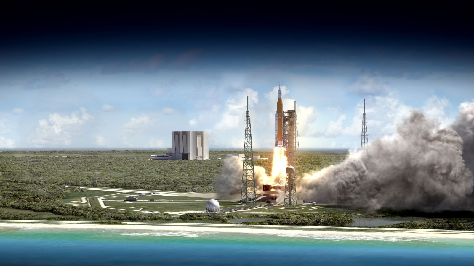 NASA's Space Launch System Exploration Mission 1