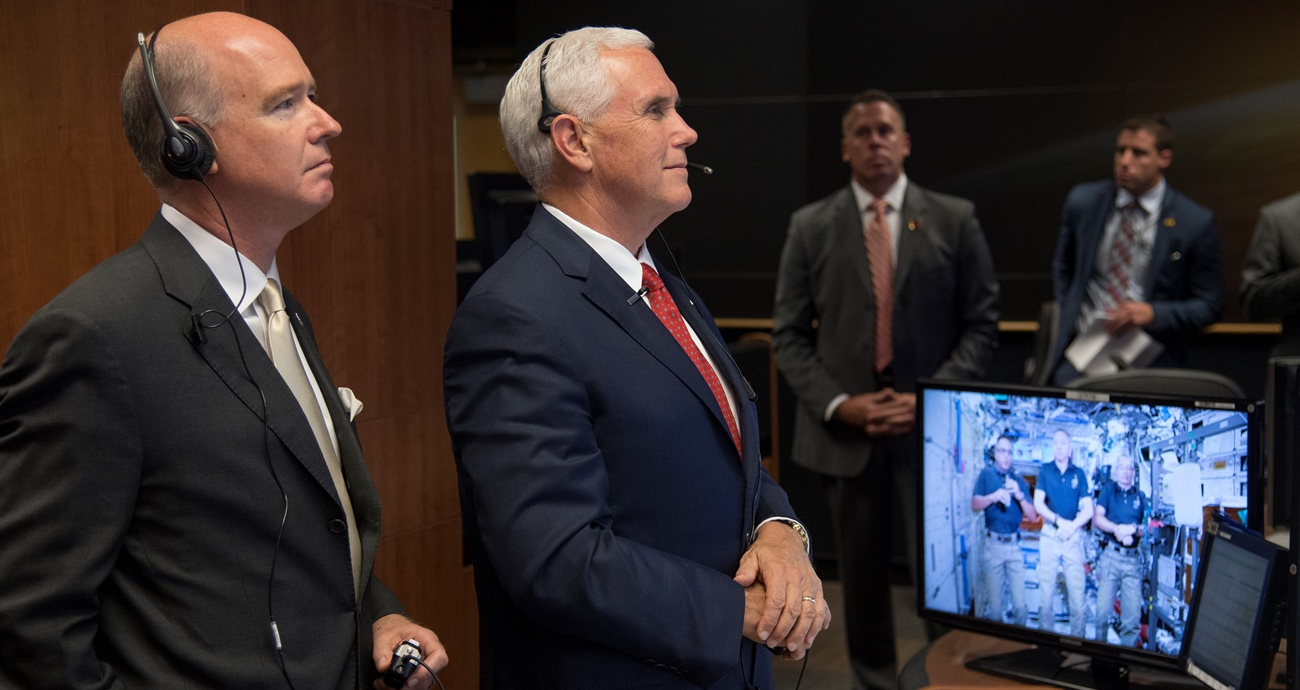 Vice President Visits Marshall Space Flight Center on Monday, Sept. 26, 2017 photo credit Bill Ingalls NASA