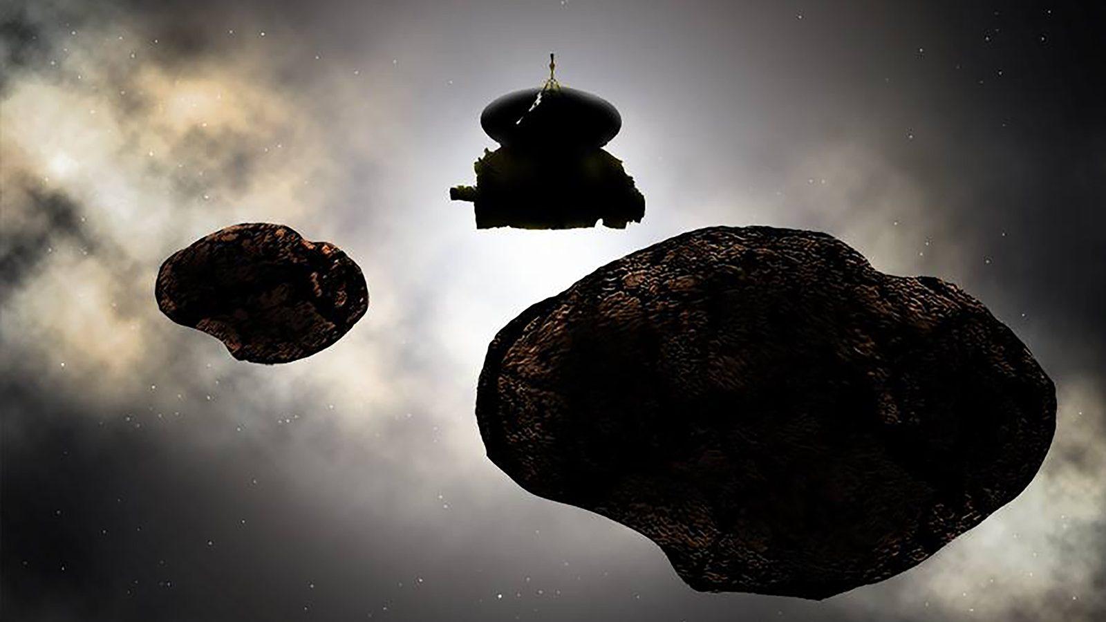 New Horizons 2014 MU69 flyby