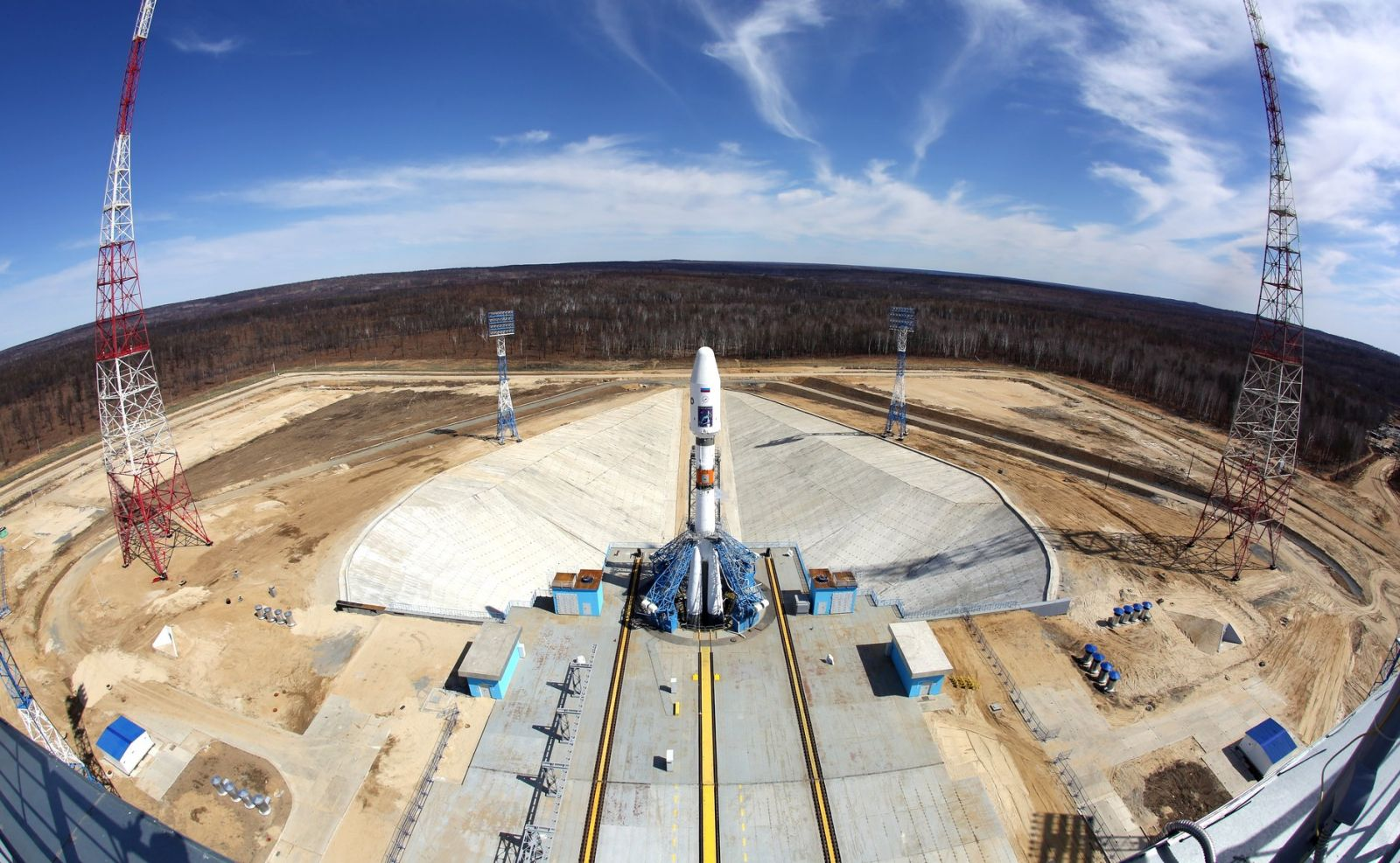 Construction Of 2nd Launch Pad At Vostochny Cosmodrome