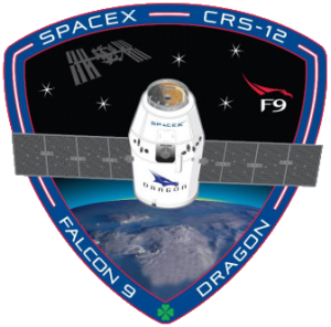 SpaceX CRS-12 mission patch logo image credit NASA SpaceX