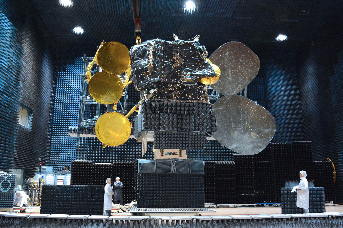 Amazonas 5 satellite.