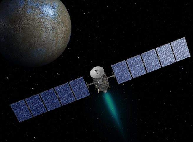 NASA's Dawn mission is celebrating its 10th anniversary. Image Credit: NASA