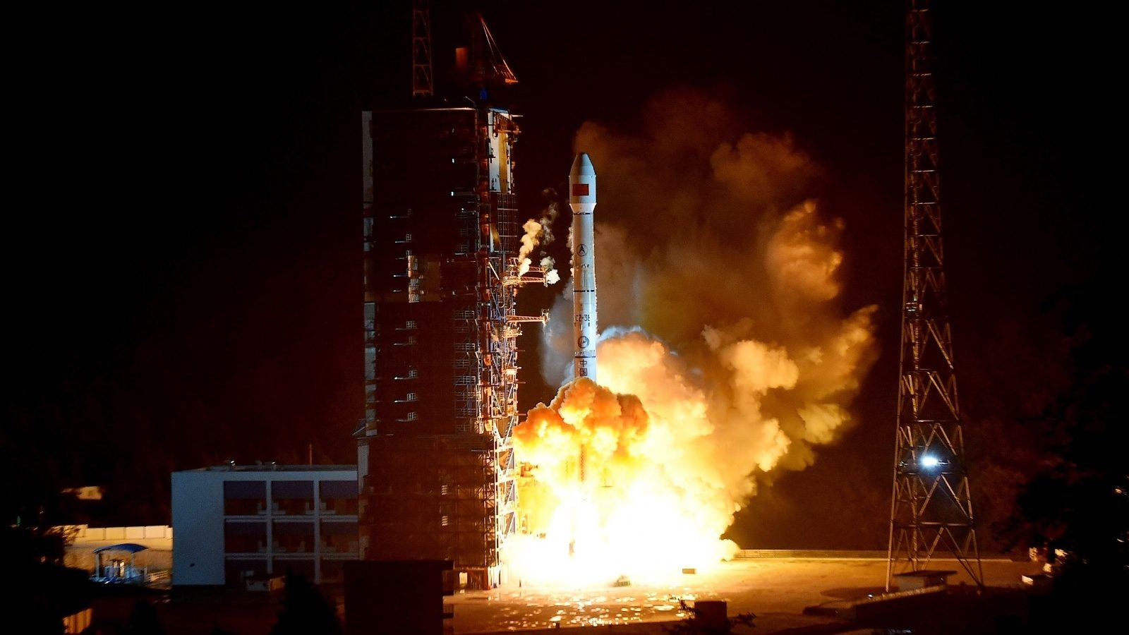 Long March 3B launch of Chinasat-2C at 16:25 UTC on Nov. 11,