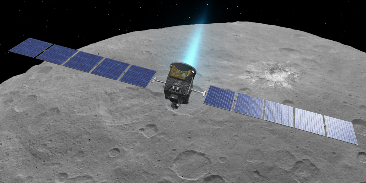 Dawn at Ceres