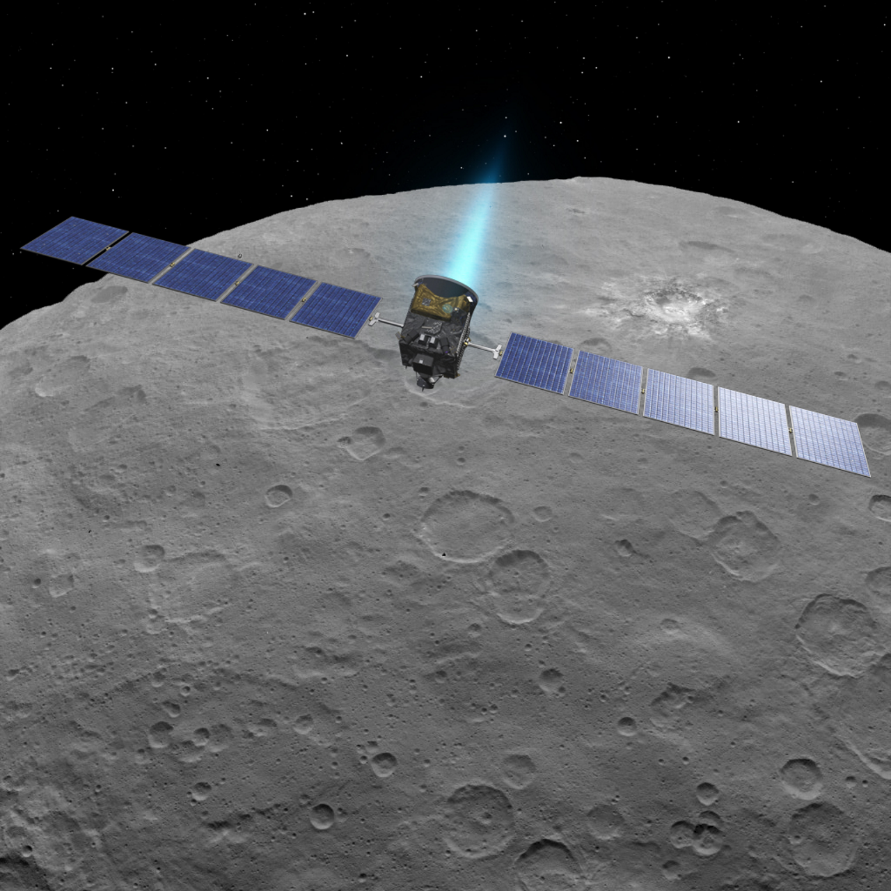 NASA extends Dawn mission