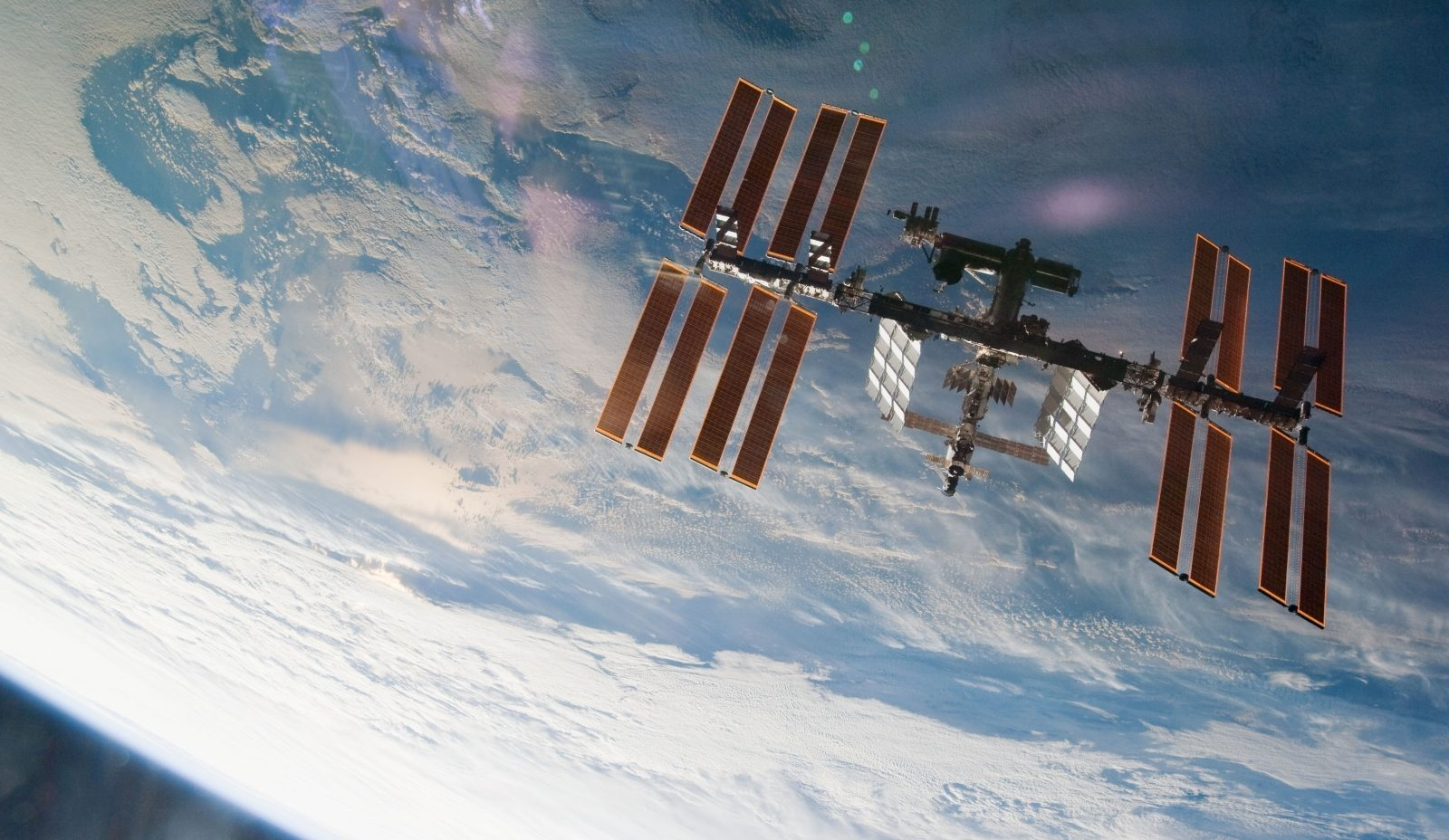 The International Space Station as seen by STS-130 crew in 2010. Photo Credit: NASA