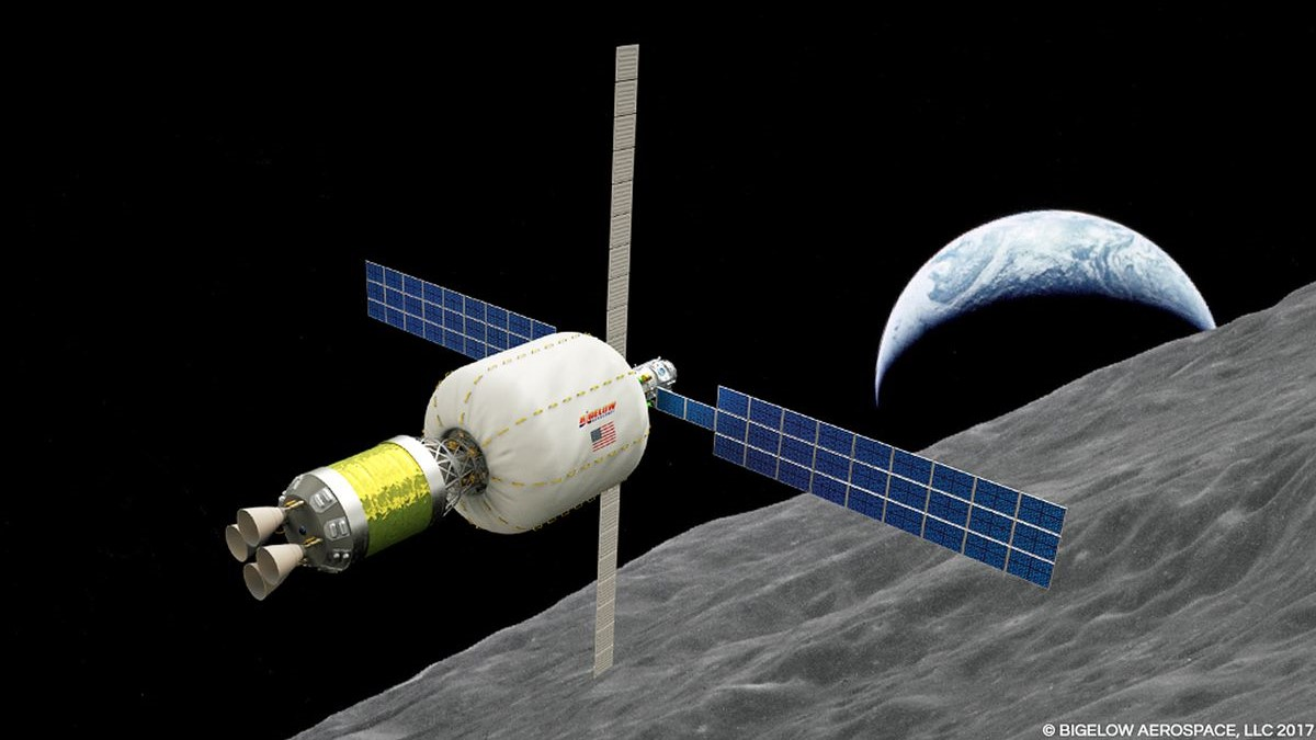 Bigelow Aerospace is planning to send an expandable habitat around the Moon
