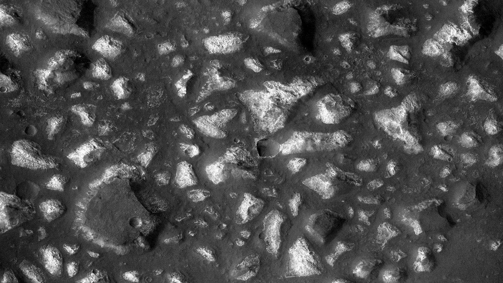 Mars' Eridania region