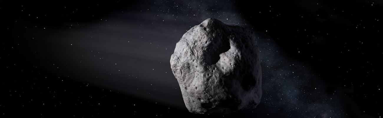 Near Earth object NASA image