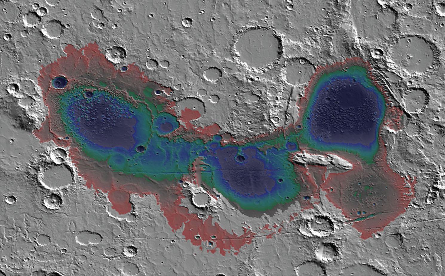 Mars' Eridiana Deposits