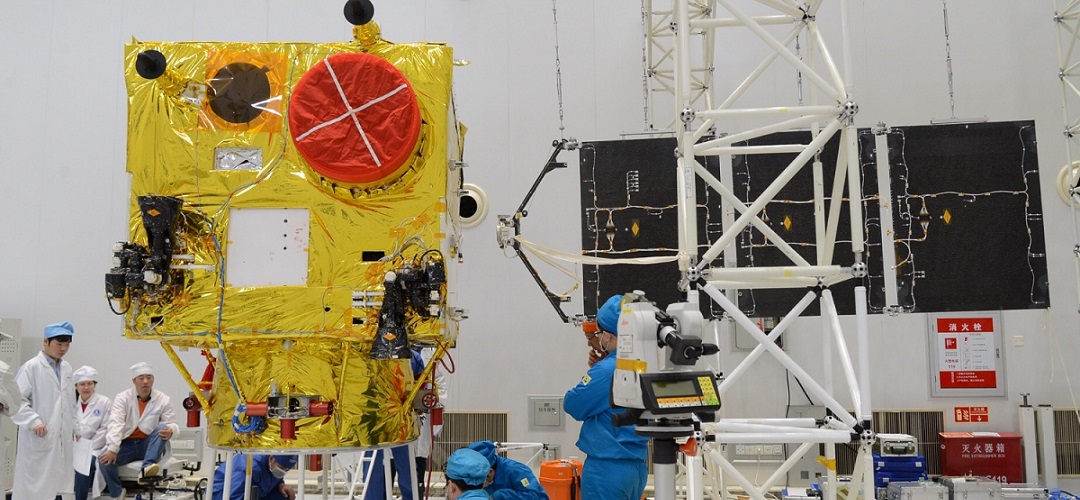 The assembly of the VRSS-2 satellite.