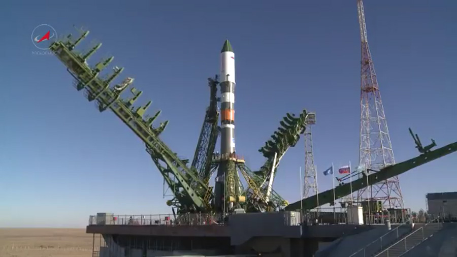 Launch of Russia's Progress resupply ship rescheduled for October  14