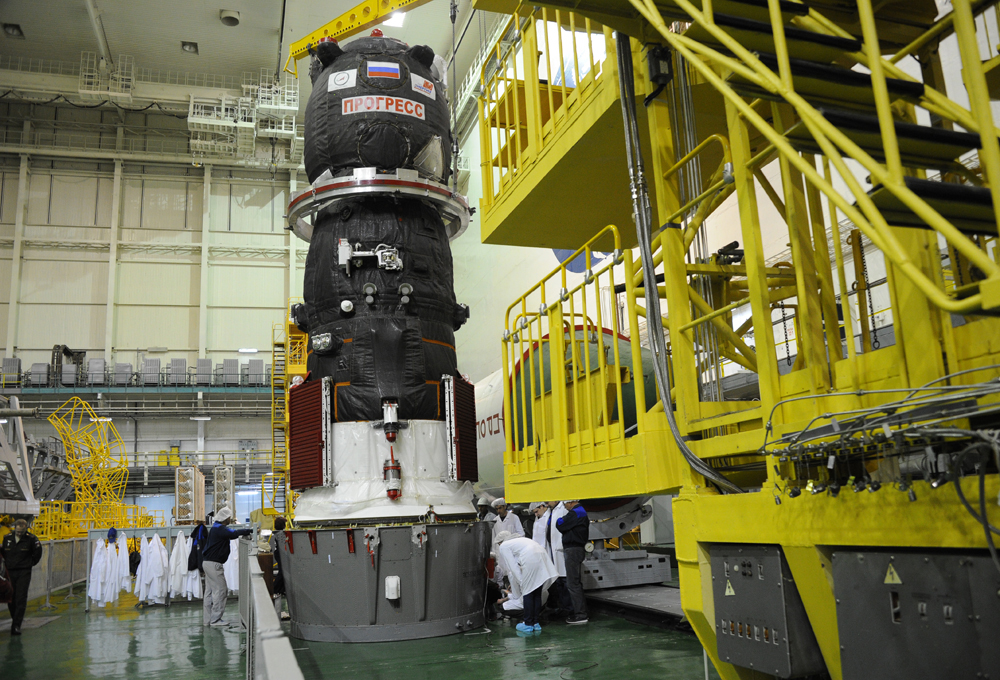 Progress MS-07 spacecraft.