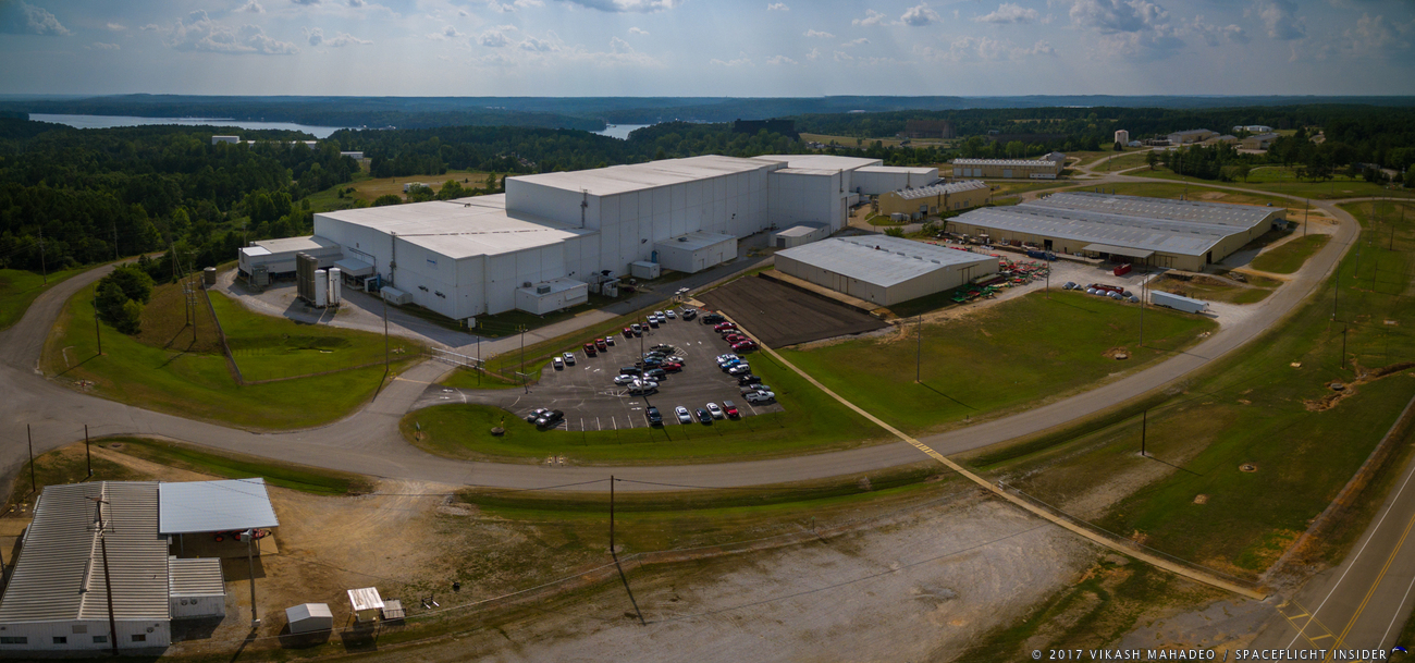 Orbital ATK produces composite structures for no fewer than five rocket families at its location in Iuka, Mississippi. Photo Credit: Vikash Mahadeo / SpaceFlight Insider