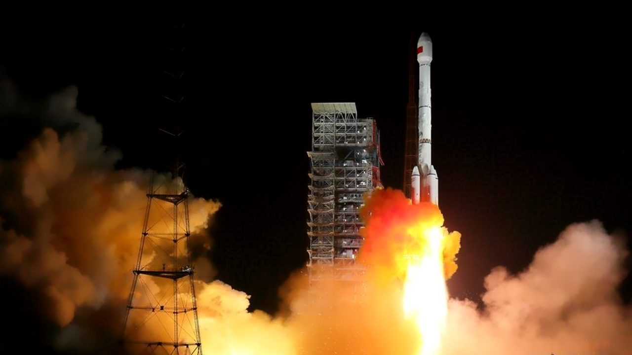 CZ-3B / YZ-1 launch with the BeiDou-3 duo (M1 and M2)
