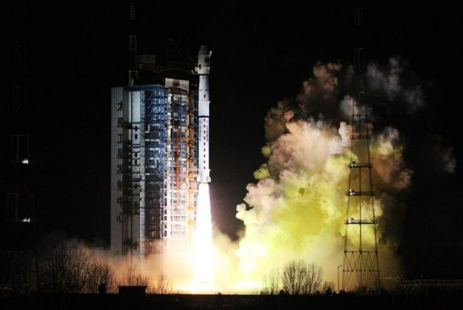 Long March-4C / Fengyun-3D launch