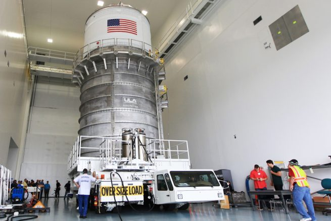 Interim Cryogenic Propulsion Stage (ICPS) Transport from DOC to SSPF