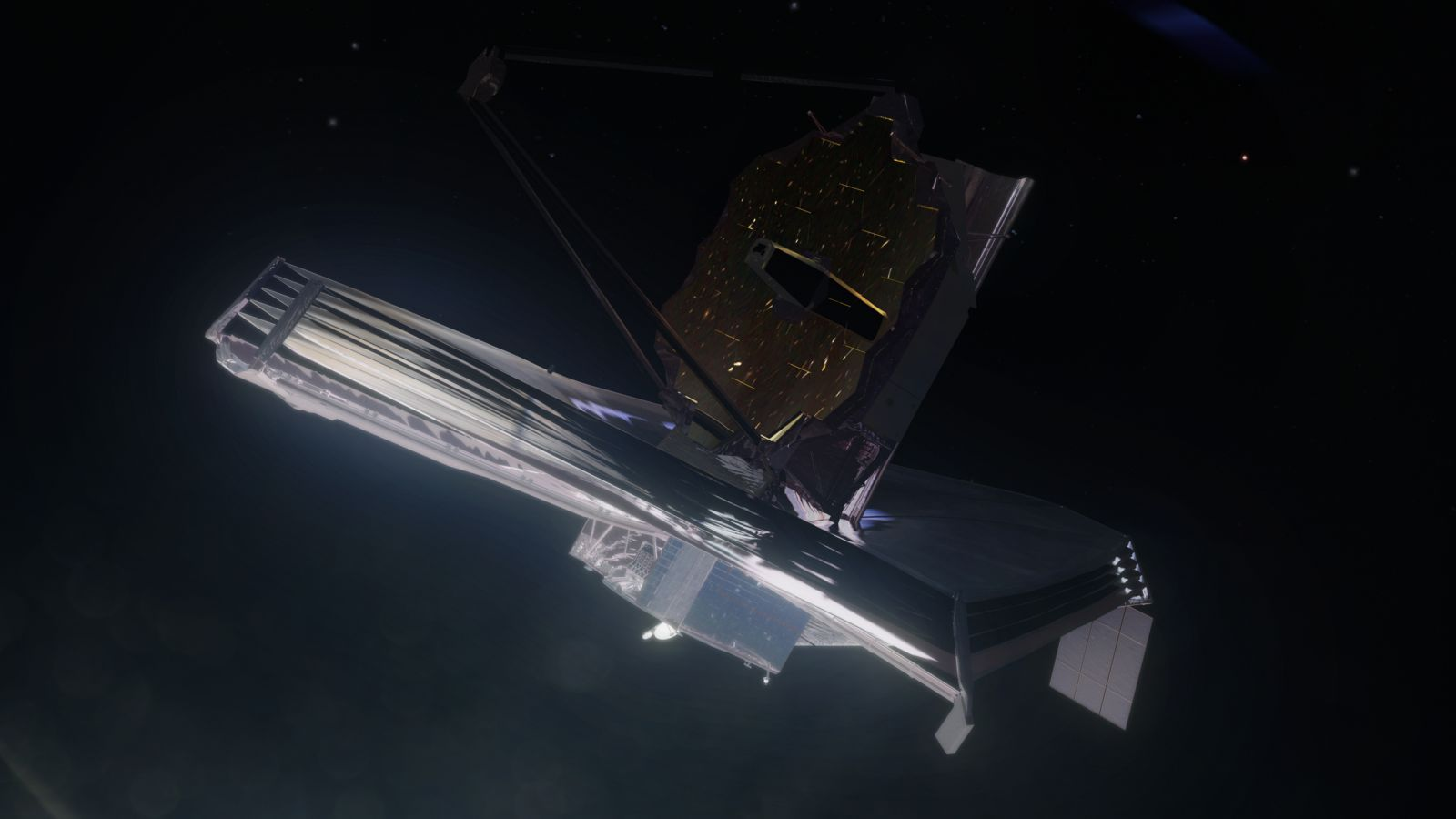 The James Webb Space Telescoped is scheduled to launch in 2019. Image Source: Nathan Koga / SpaceFlight Insider