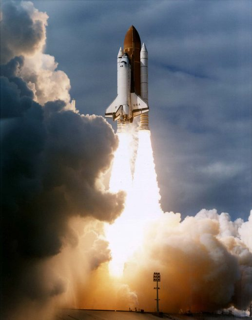 STS-80, at more than 17 days on orbit, would go down as the longest mission of the shuttle era. Photo Credit: NASA