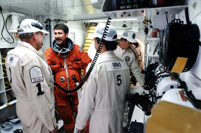 STS-80's pilot, Kent Rominger, would go on to fly five times in space. STS-80 was his second flight into space. Photo Credit: NASA