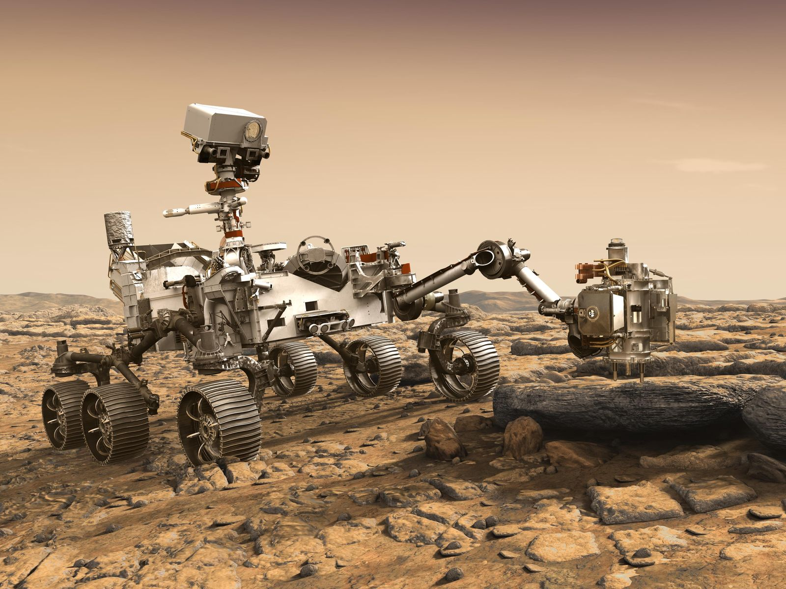 NASA plans 'souped-up' rover for Mars 2020 mission ...