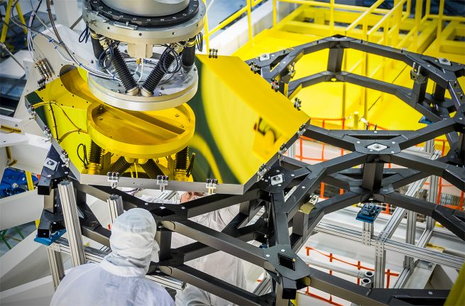 NASA James Webb Space Telescope photo credit Chris Gunn NASA