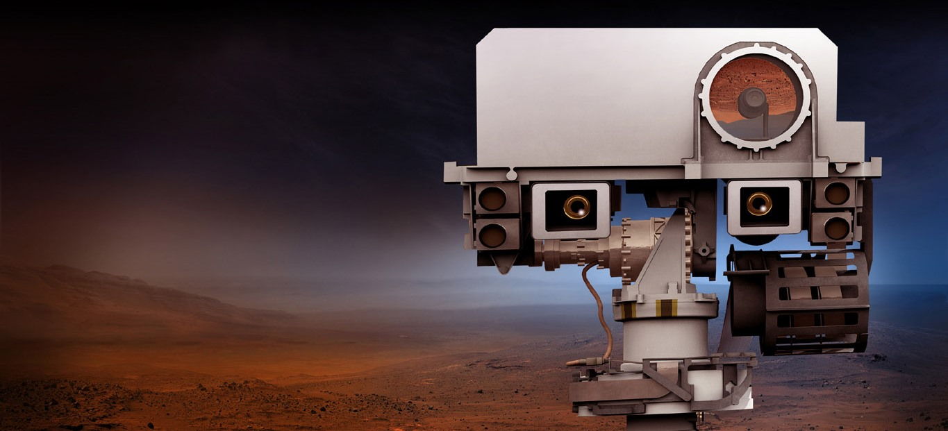 Many of the 23 cameras that have been selected for NASA's Mars 2020 rover are improved versions of the cameras on the Curiosity rover - with a few new additions being included as well. Image Credit: NASA / JPL-Caltech