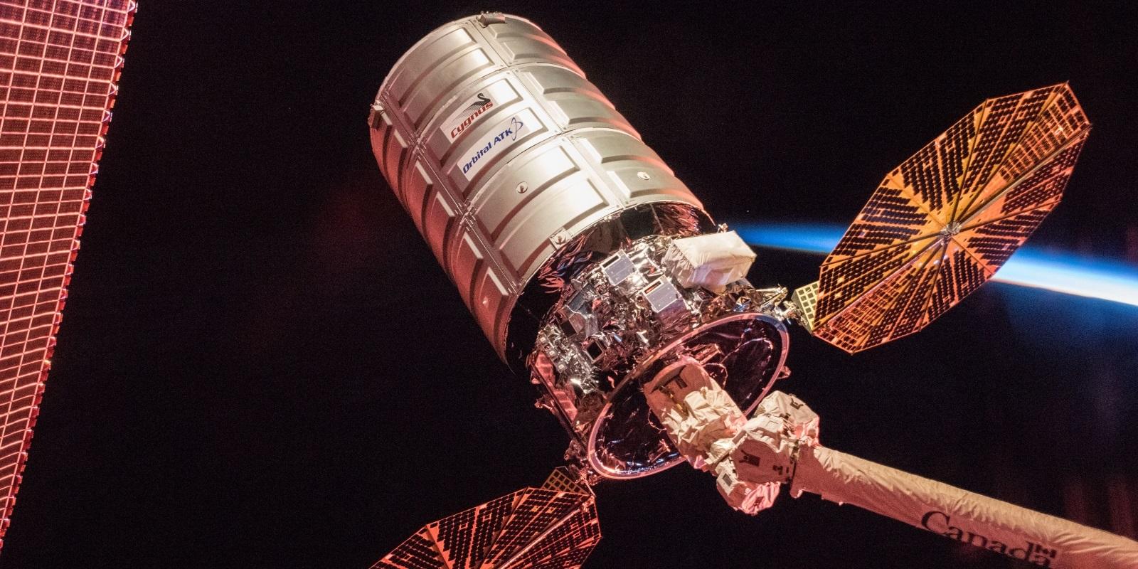 U.S. Commercial Cargo Spacecraft Departs International Space Station – 2018-01-13