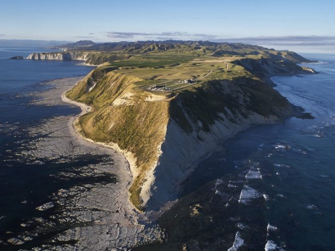 Rocket Lab's Launch Complex 1 sits at the end of the Mahia Peninsula in New Zealand. Photo Credit: Rocket Lab