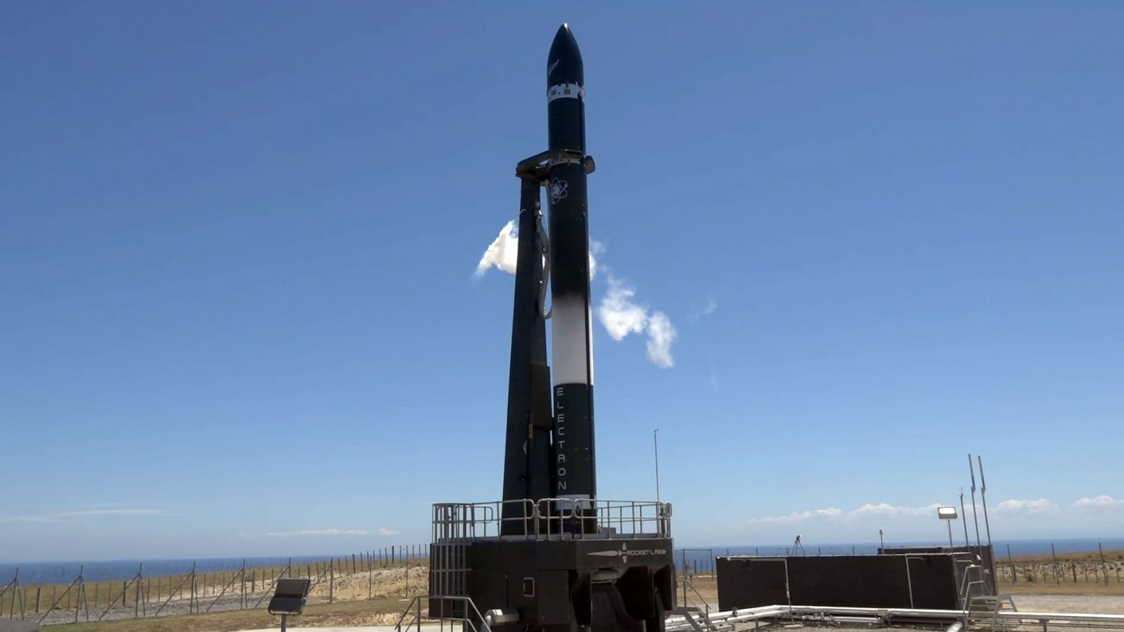Rocket Lab's Electron rocket during the Dec. 11 launch attempt. Photo Credit: Rocket Lab