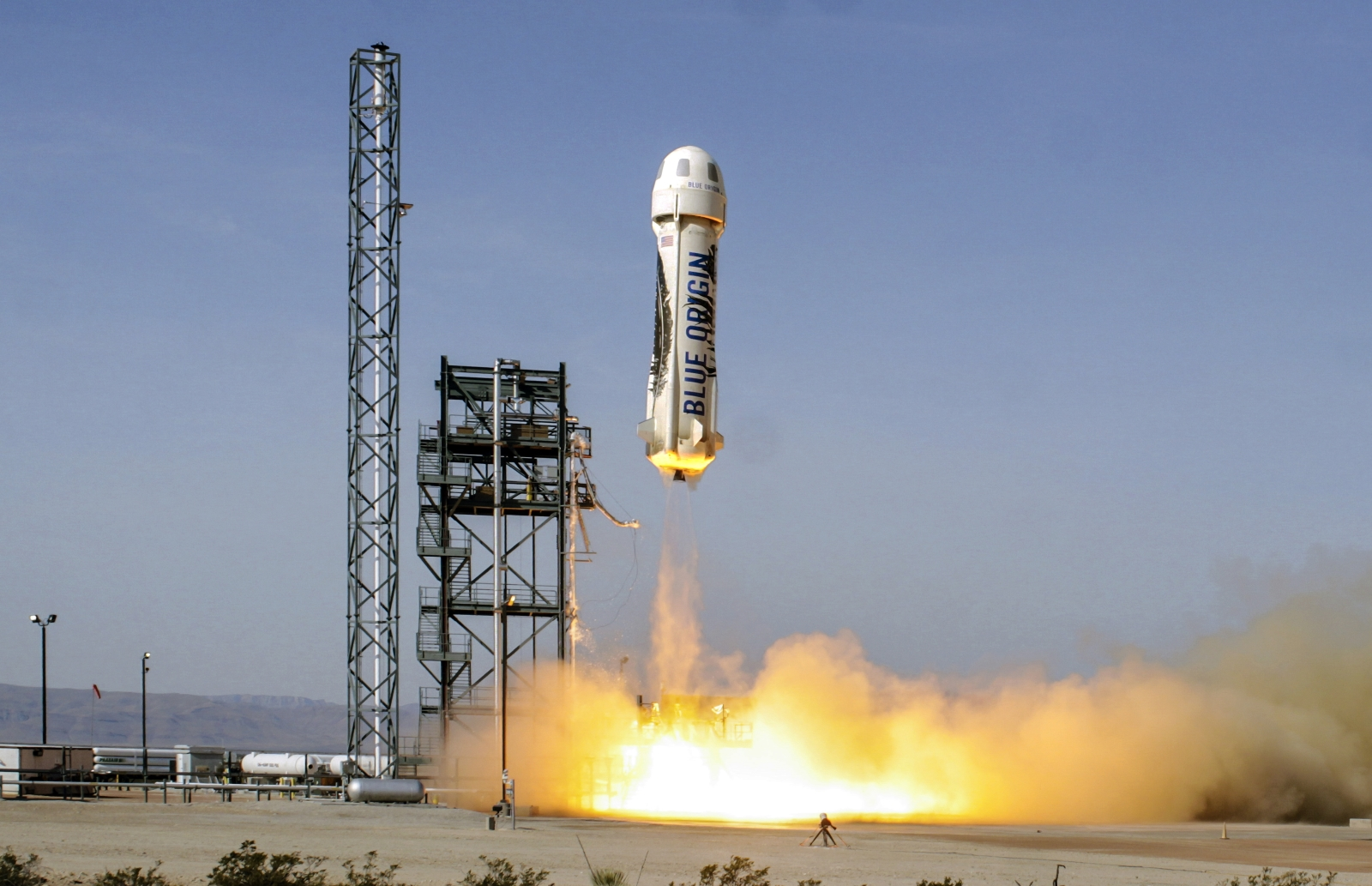 Blue Origin Launches New Crew Capsule on Third New Shepard Rocket