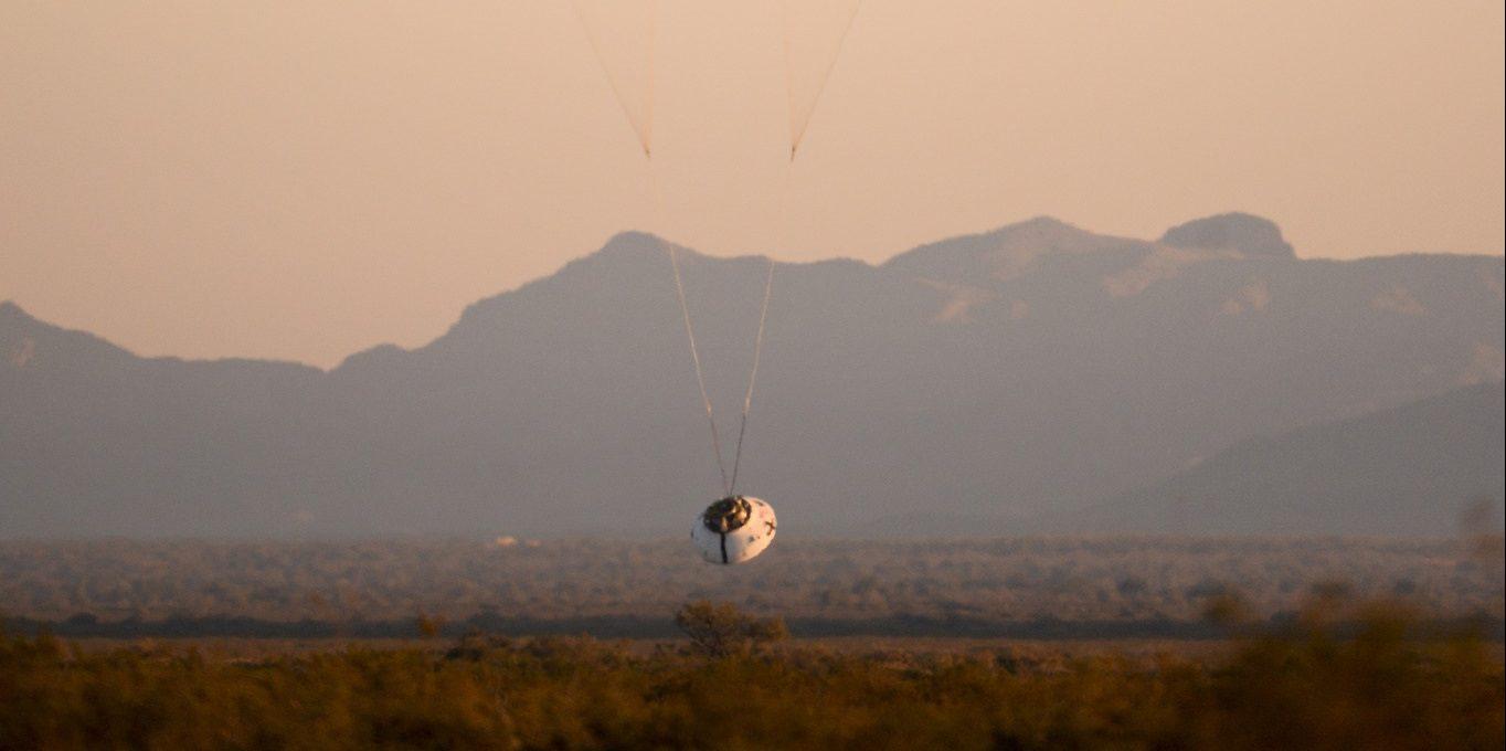 Orion parachute test (2017-12-15)