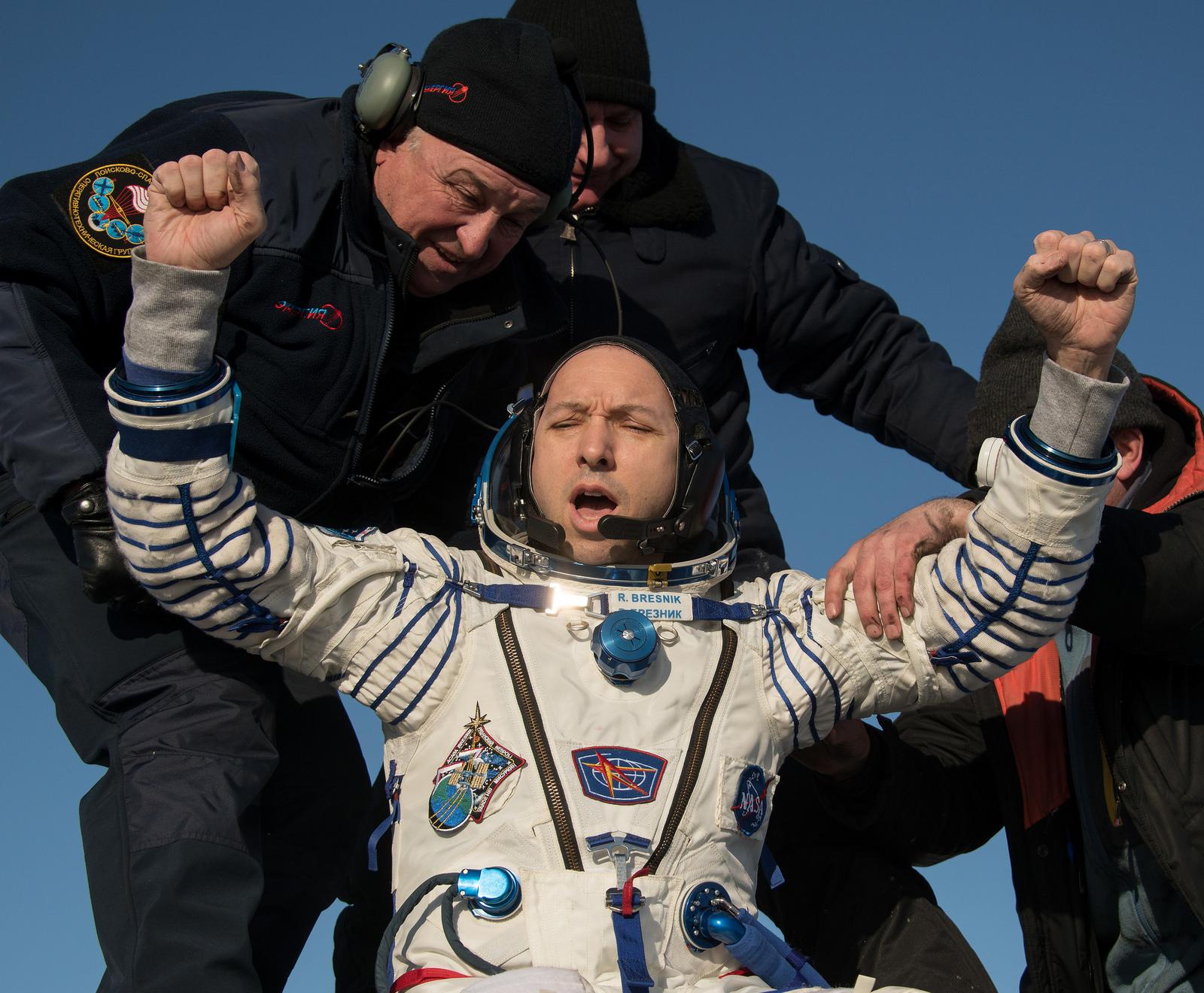 Soyuz MS-05 crew member Randy Bresnik (NASA)