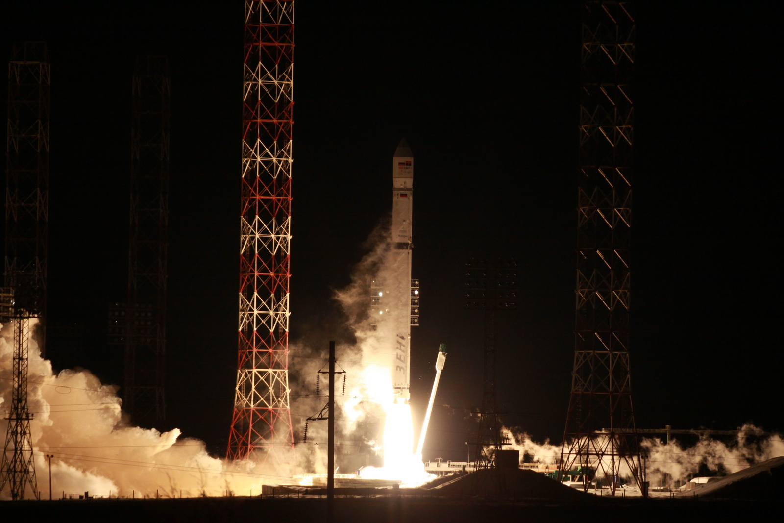 Contact lost with 1st Angolan satellite after launch from Baikonur spaceport