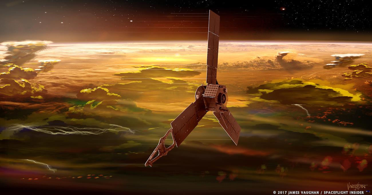 Juno Delves Deep Into Jupiter S Red Spot Spaceflight Insider