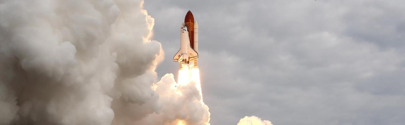 STS-134, the final flight of the space shuttle Endeavor. Photo credit: NASA