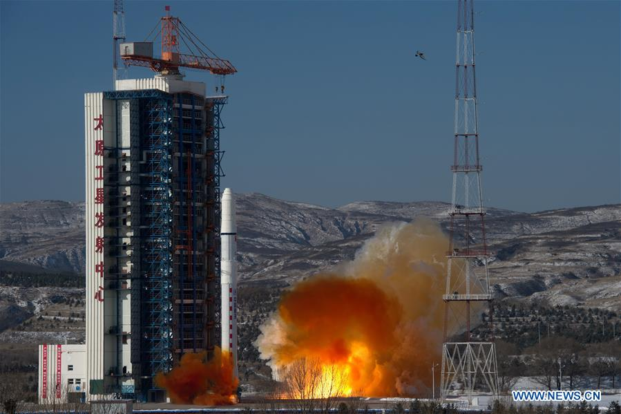 China kicked off the nationa;s 2018 launch manifest with the flight of two SuperView satellites on Jan. 9, 2018. Photo Credit: Cao Yang / Xinhua