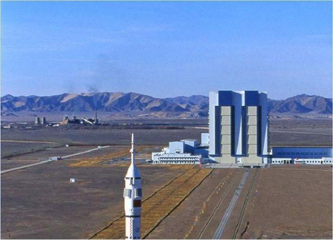 Jiuquan Satellite Launch Center image credit wikimapia